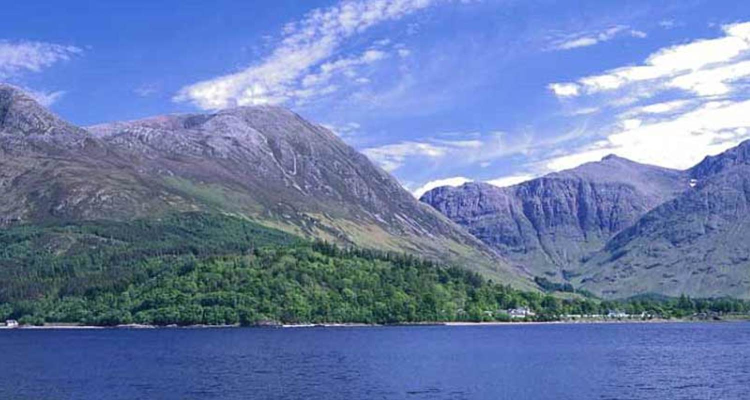 Loch leven and the Glencoe hills