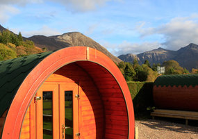 Come to Glencoe and stay in one of our two micro lodge Hobbit Houses which are available for nightly hire, with a 2 night minimum at the weekend. T...