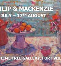 Paintings by Scottish artists Jackie Philip and Jennifer Mackenzie.This summer exhibition showcases a range of Scotti...