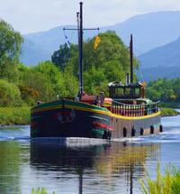 Fingal of Caledonia on the Caledonian Canal